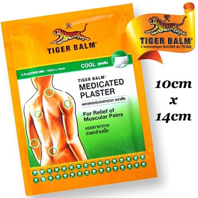 Cool adhesive patch large size Tiger Balm