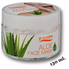 Aloe vera face mask 130ml. Po Care