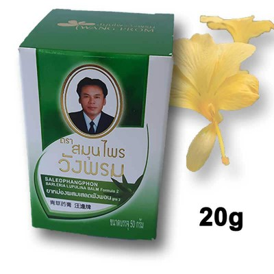 Thai balm green 20g Wang Prom