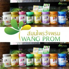 Thai balm white gaultheria 50g Wang Prom