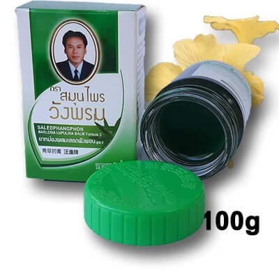 Thai balm green 100g Wang Prom