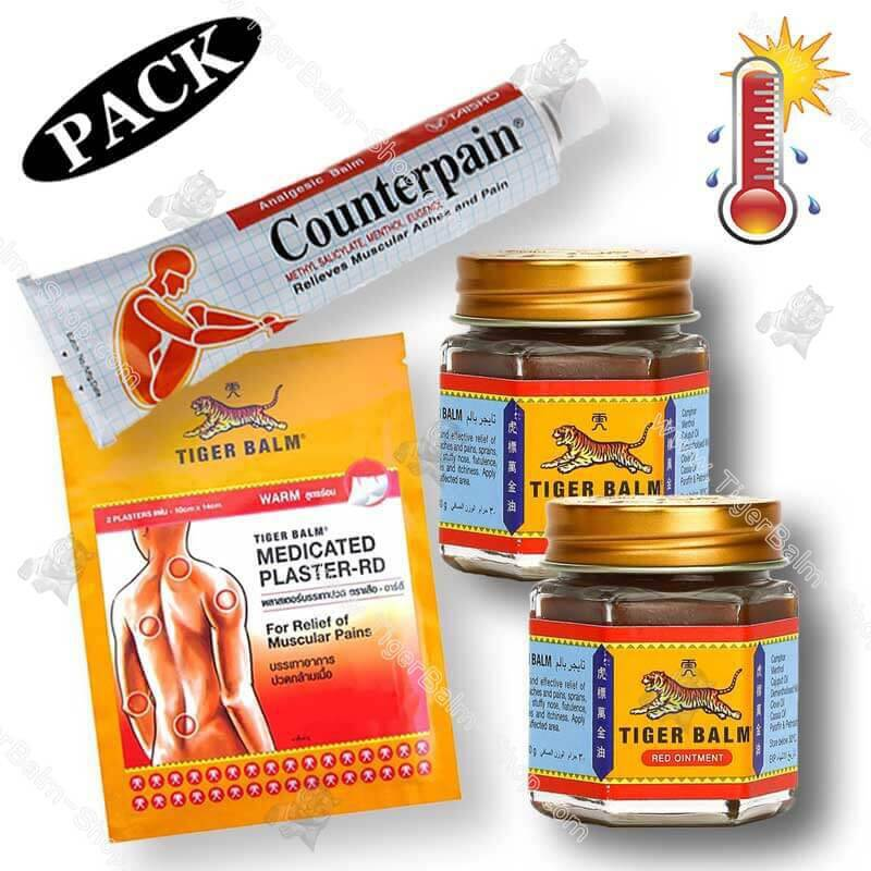 Warm sensation pack tiger balm