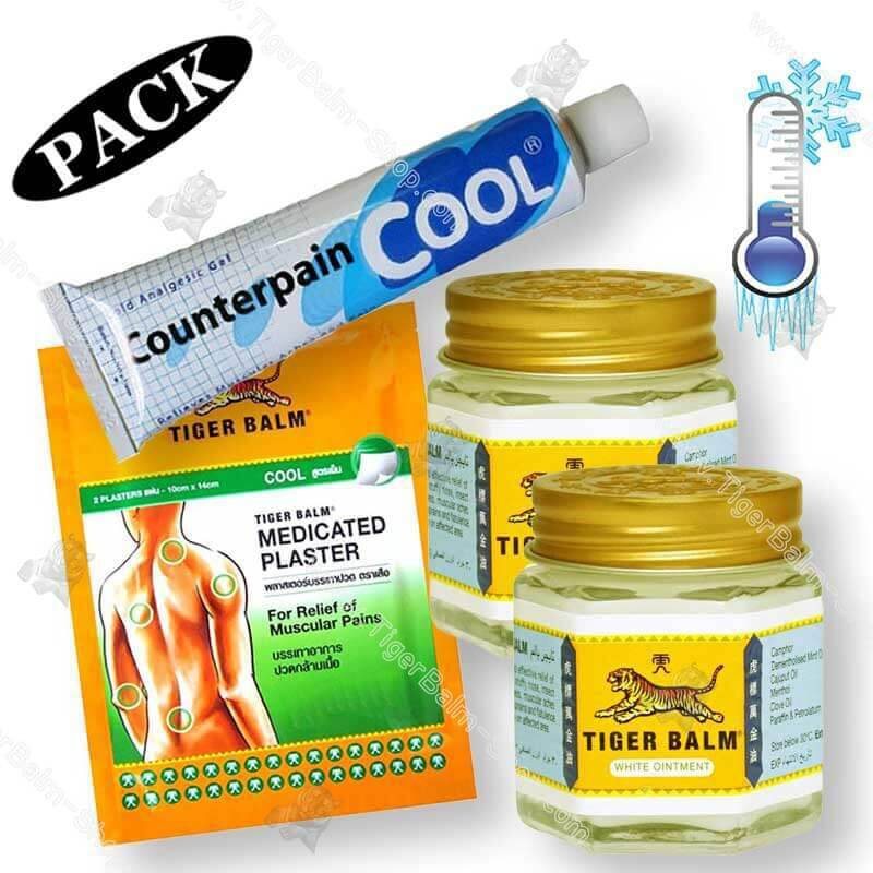 Cool sensation pack tiger balm
