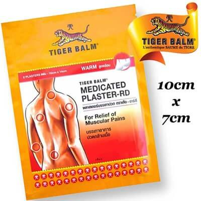 Warm adhesive patch small size Tiger Balm