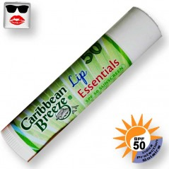 Aloe vera sunscreen lip gloss spf50 Caribbean Breeze