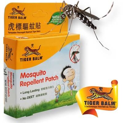 Mosquito repellent patch Tiger Balm